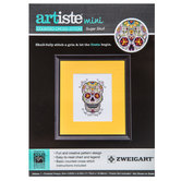Sugar Skull Mini Counted Cross Stitch Kit